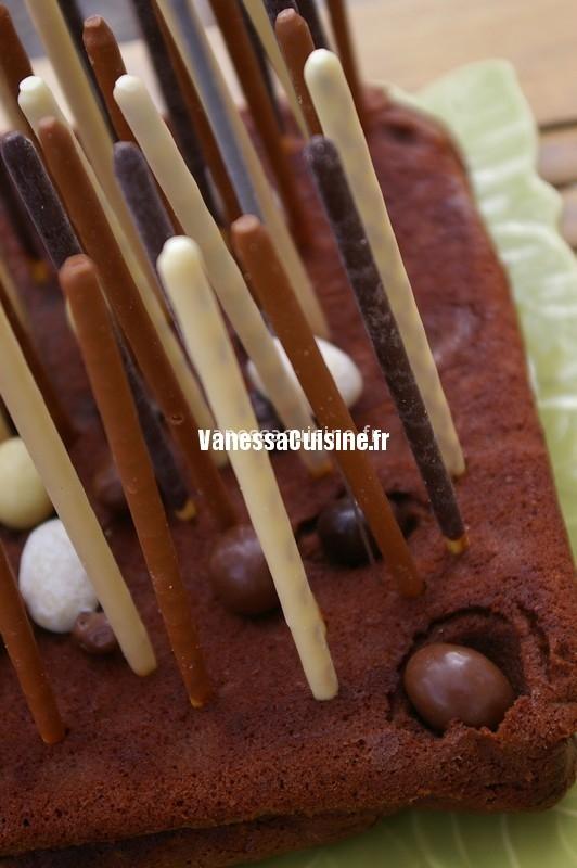 le gâteau d'anniversaire magique au chocolat d'Ysé