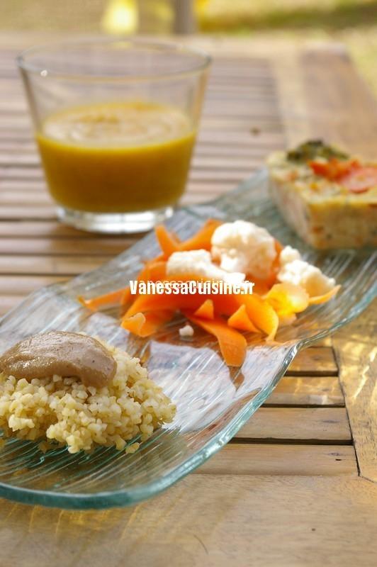 recette de flan au chou et à la carottecarotte