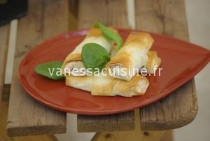 Croustillants grecs épinard et fromage