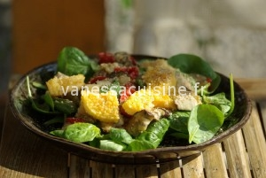 et avec les restes des légumes rôtis ?