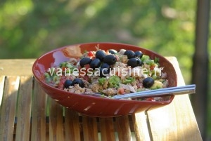 recette de salade de thon à l'orientale