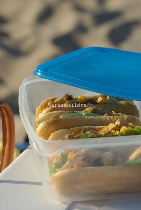 recette de coronation chicken sandwich