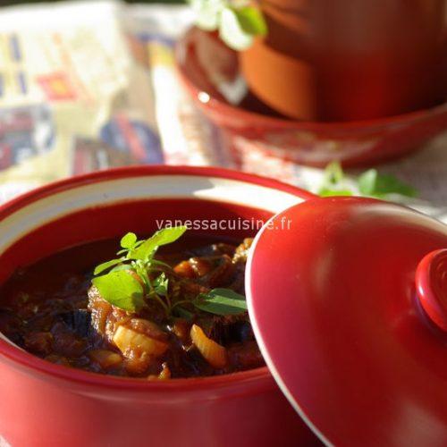 recette de riste d'aubergine