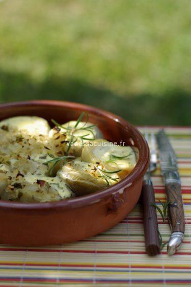 recette d'artichauts farcis au bruccio