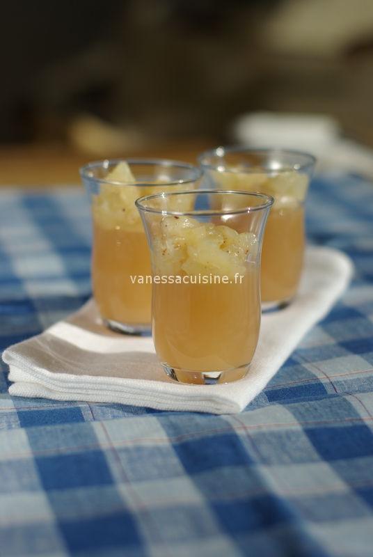 gelée de Poiré aux poires épicées