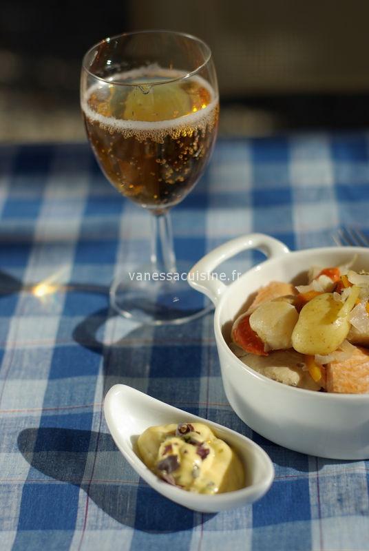 Cotriade bretonne aux algues et au cidre