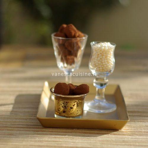 recette de truffes pur chocolat