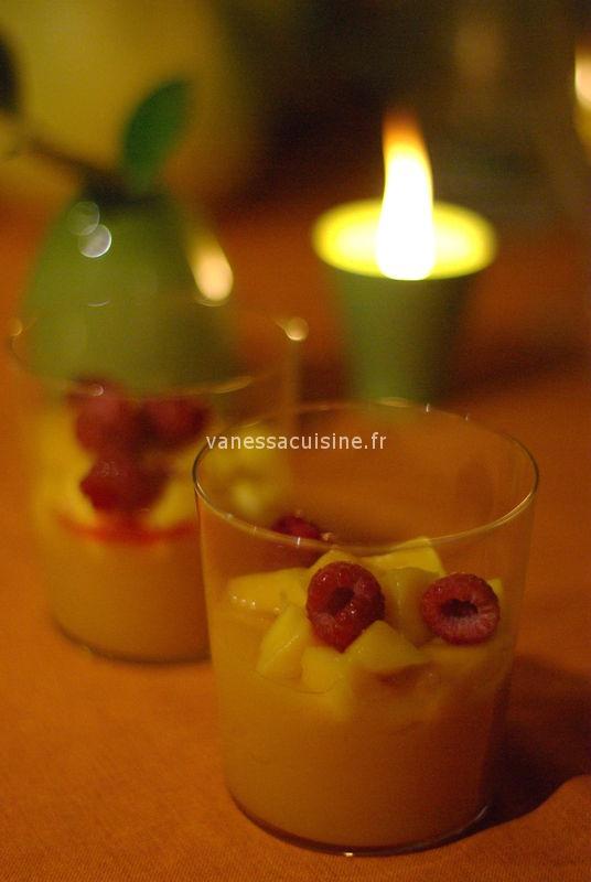 Verre des Iles pour un dessert léger