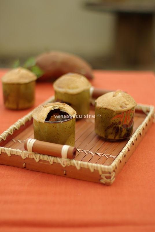 recette de pies au veau, champignons et courge