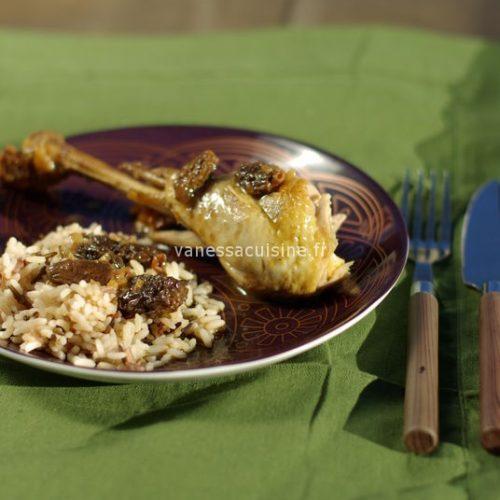recette de poulet aux morilles