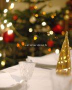 photo d'une table de la saint sylvestre