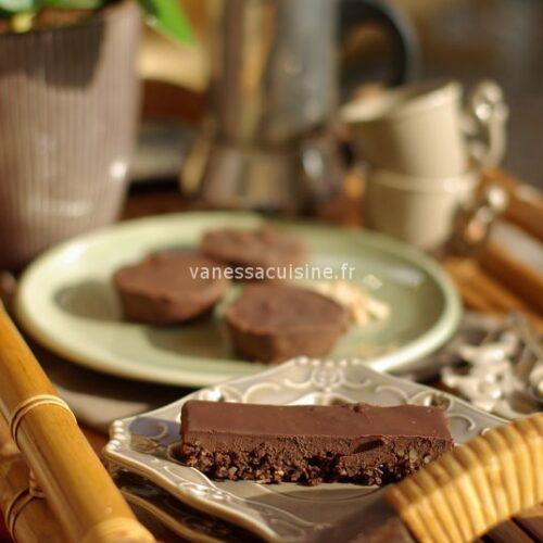 recette de tarte au chocolat sans cuisson