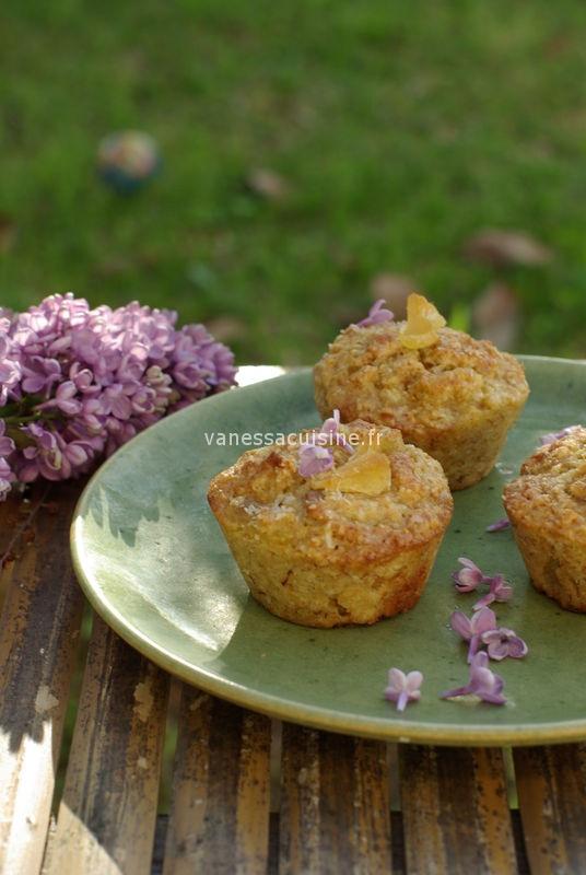 recette de muffins ananas coco
