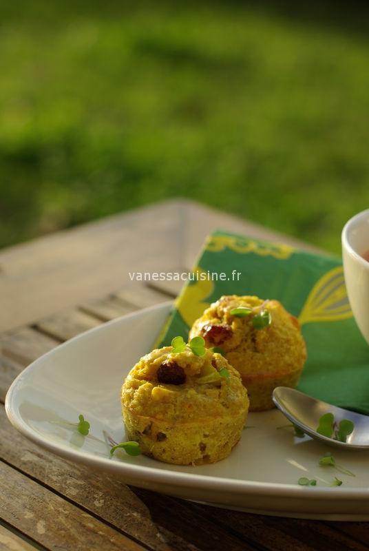recette muffins thon curry raisins secs