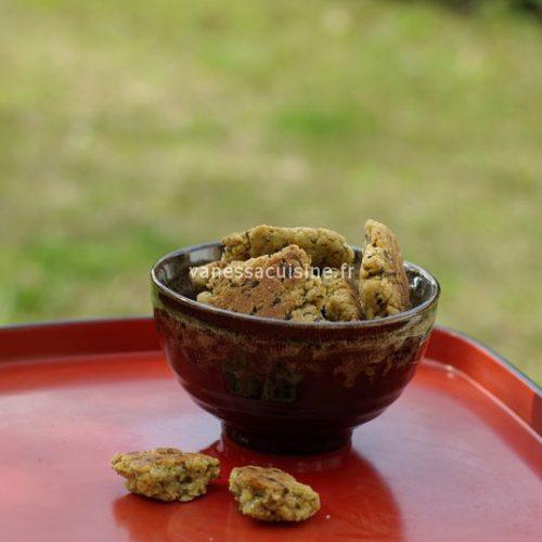 recette de galettes de semoule à la coriandre