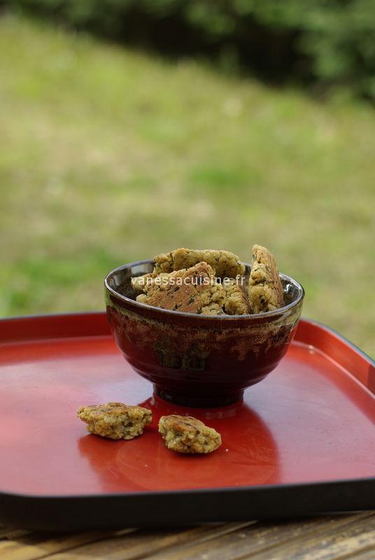 recette de galettes à la semoule et de coriandre