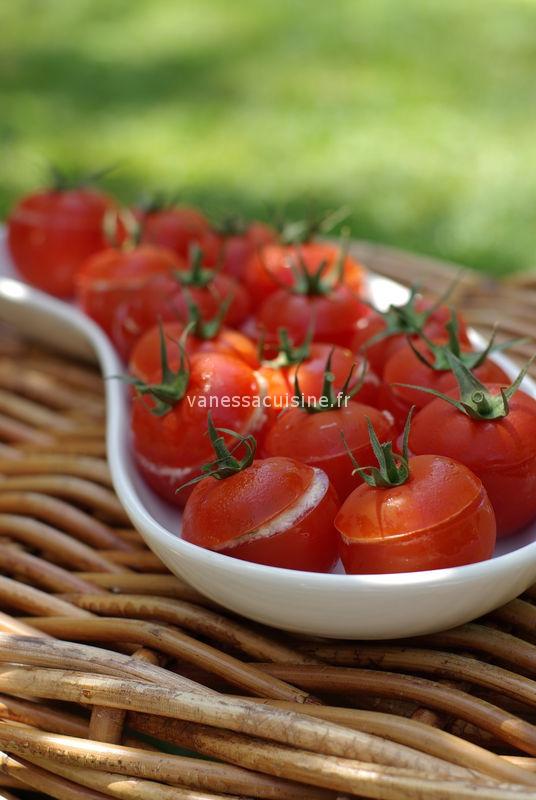 Picholines' party : tomates farcies à la crème de crabe