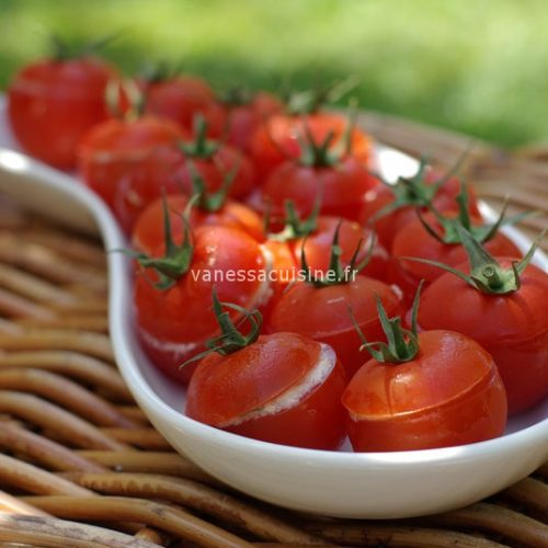 Tomates farcies au crabe