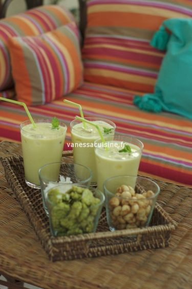 recette de pinacolada à l'ananas frais et crème de coco