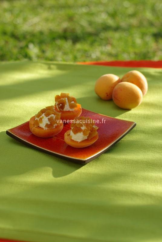 Billes de bruccio aux abricots moelleux et frais