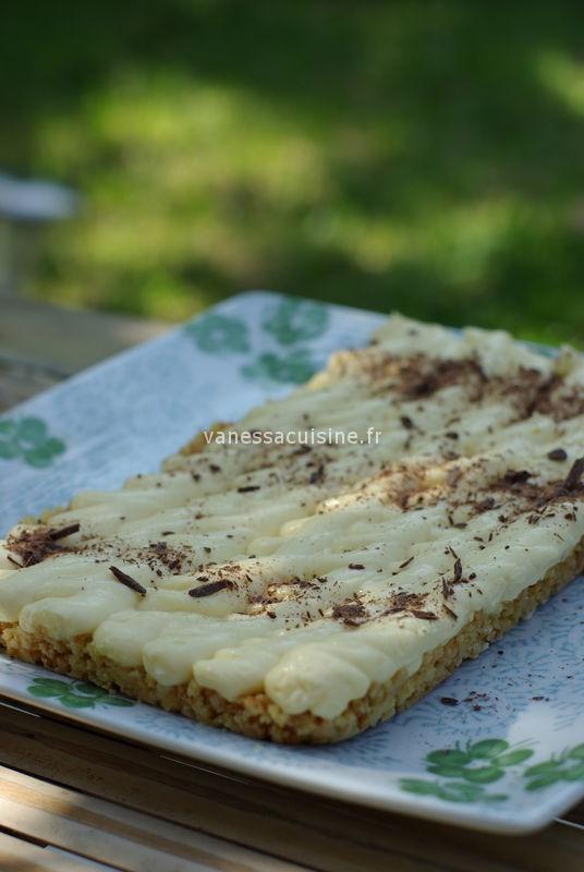 Cheese tart' tiramisu, by J. Andrieu