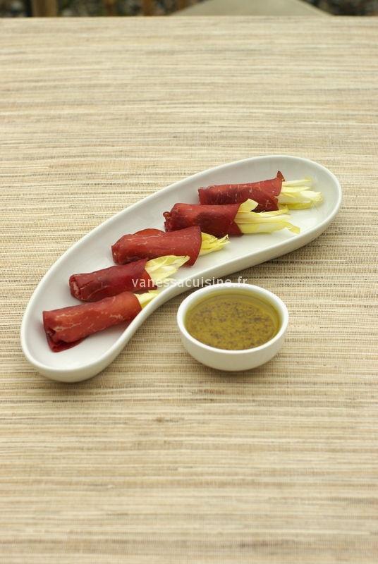 recette de dip à base d'endives et bresaola