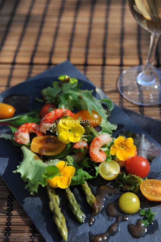 recette de salade d'écrevisses à la truffe