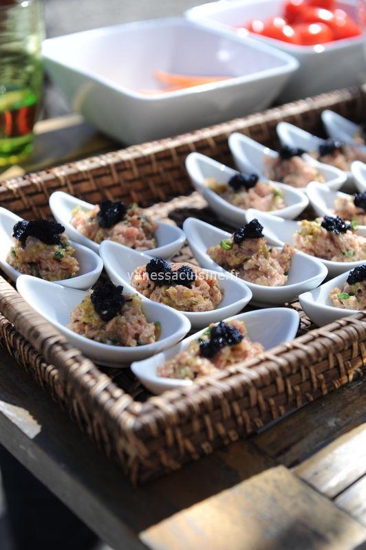 recette de tartare de veau aux oeufs de capelan