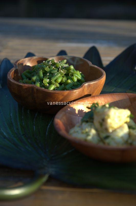 Tartare de haricots verts au sésame et au tamari