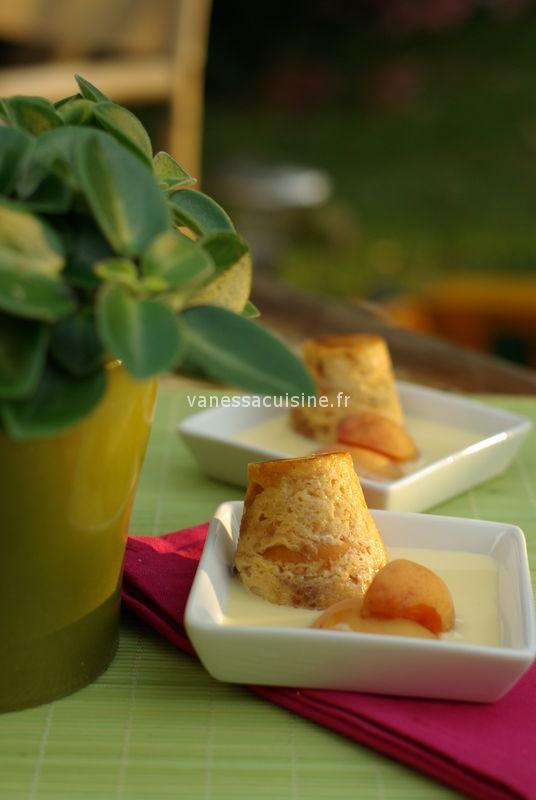 Pudding très très gourmand aux trois abricots