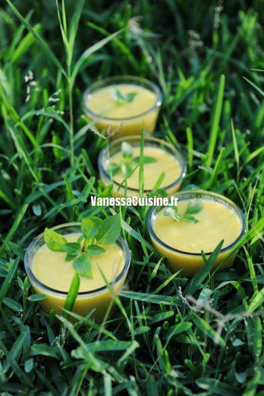recette de gaspacho jaune