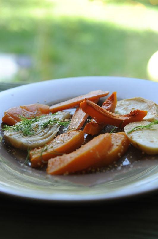 recette de légumes rôtis d'automne