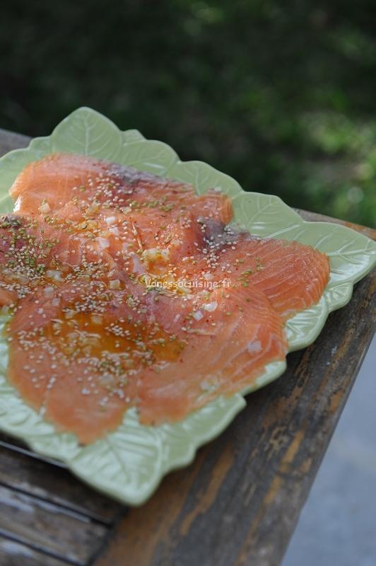 recette de saumon mariné