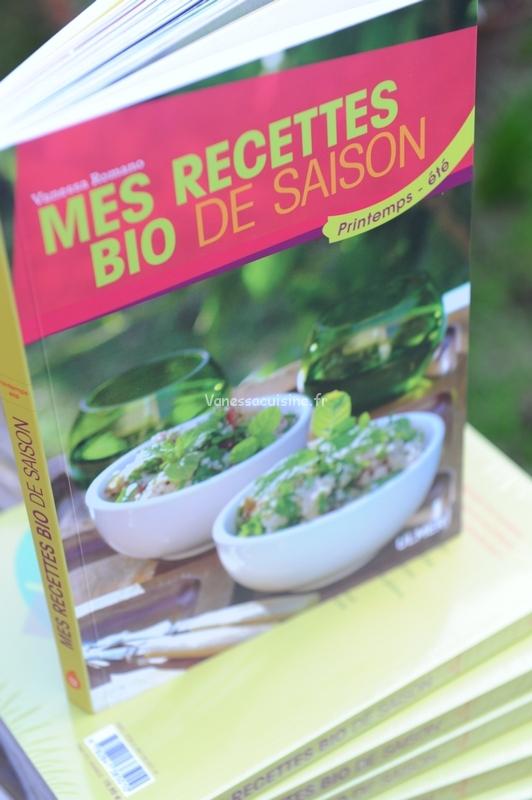 Mes recettes bio de saison, le livre !