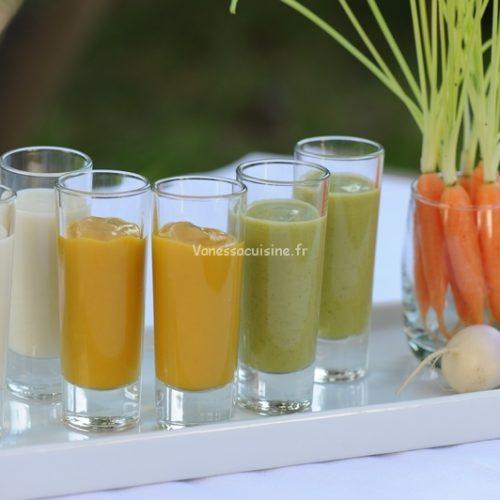 recette de veloutés de légumes de printemps