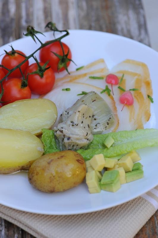 What's for lunch today ? Les pommes de terre nouvelles de l'Ile de Ré