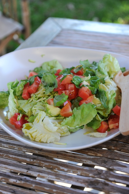 What's for lunch today ? Salade toute fraîche