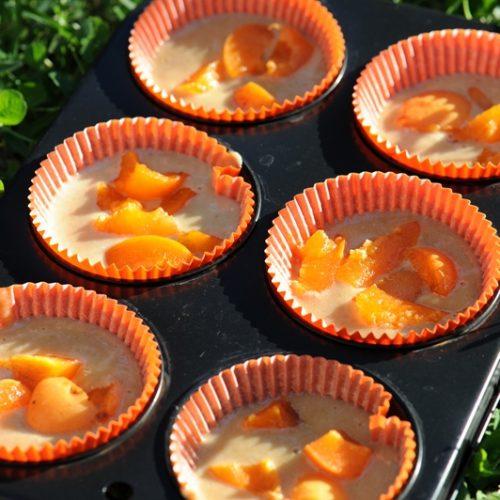 recette de Gâteaux à la crème et aux abricots