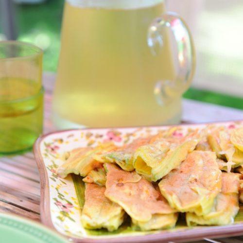 recette de beignets de fleurs de courgettes de ma grand-mère