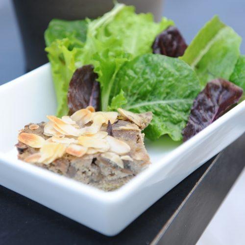 recette de clafoutis de pleurote et aubergine