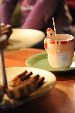 Goûter de vacances de Noël...