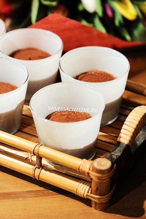 Tiramisu léger au chocolat