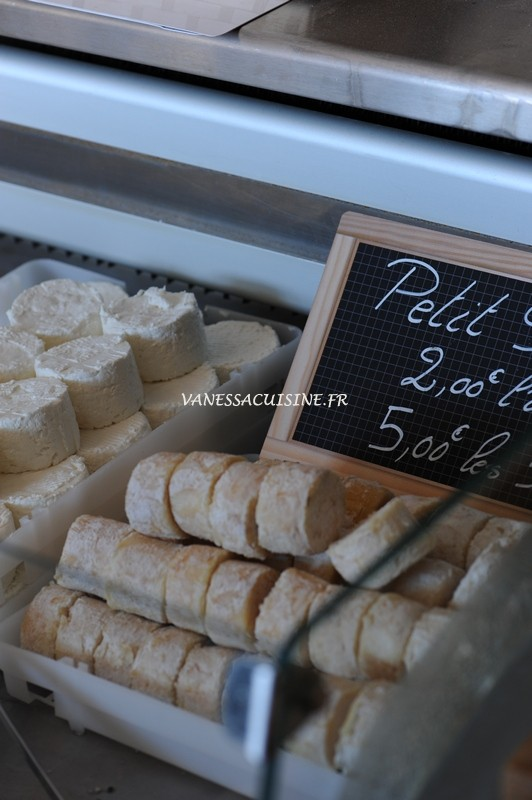 fromage chevre tanneron