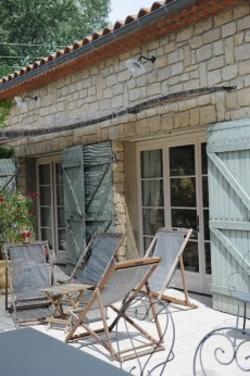Terrasse de la Bastide des Anges