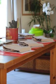 Planning des cours, Août 2012