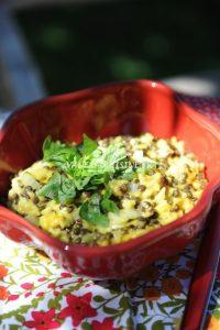 recette de curry aux lentilles et au riz