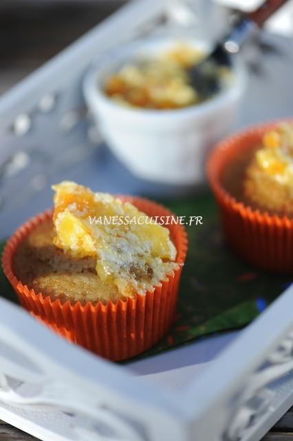 photo culinaire de muffins à l'orange et beurre de mandarine