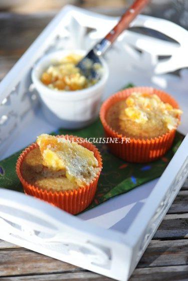 Recette de muffins à l'orange et beurre de mandarine