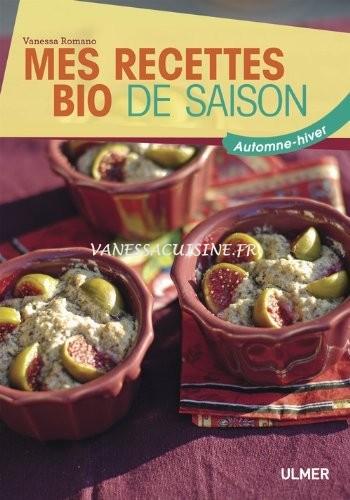 livre Mes recettes bio de saison