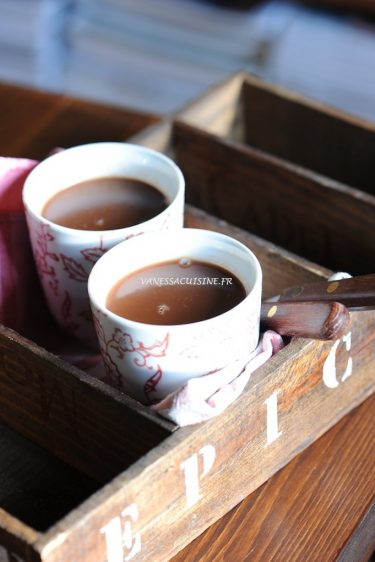 recette du véritable chocolat chaud au lait des Alpes